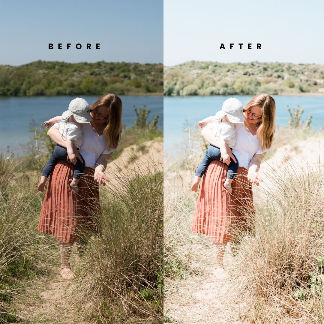 Light en Airy - Before & After Presets
