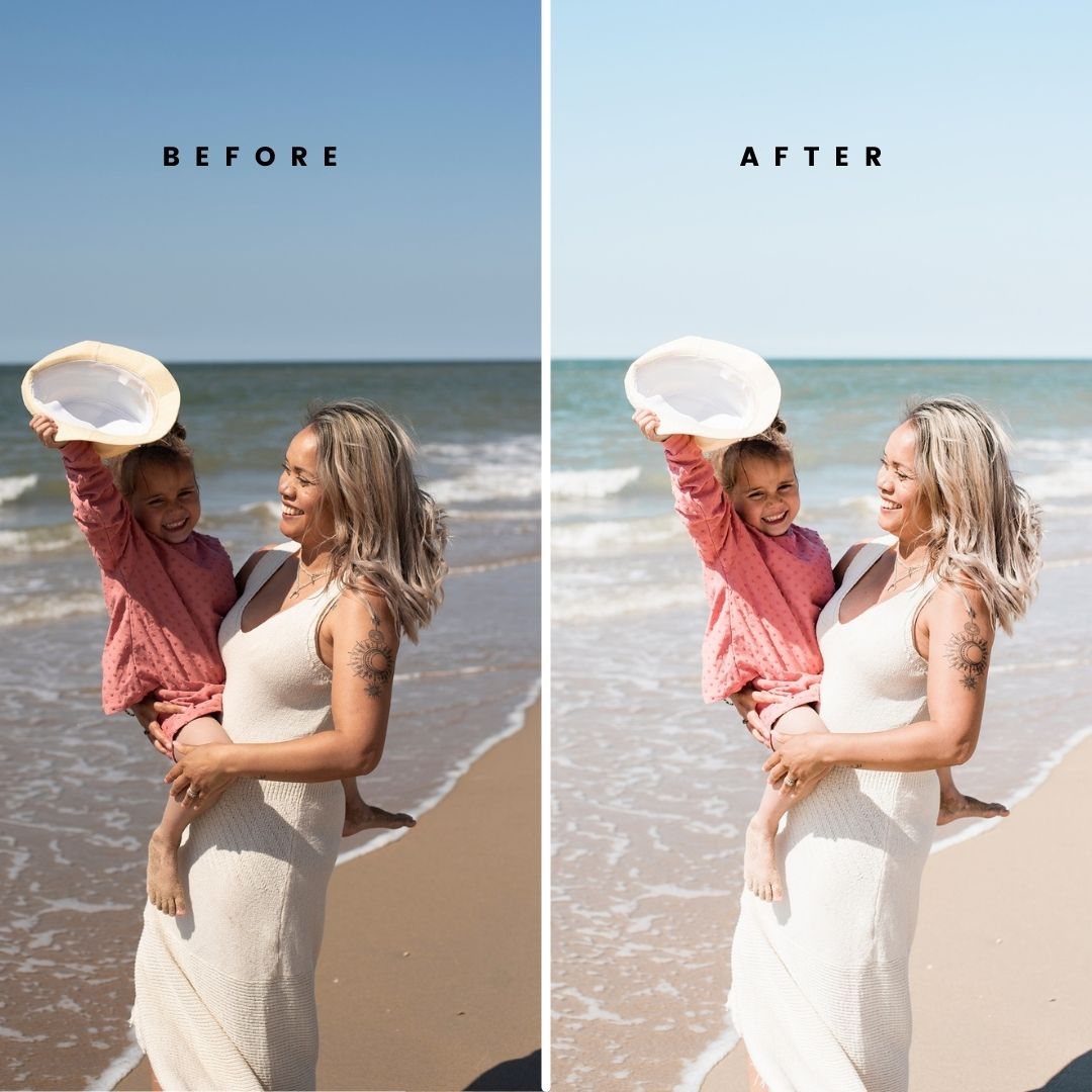 Before & After Presets - Lia Remmelzwaal Fotografie